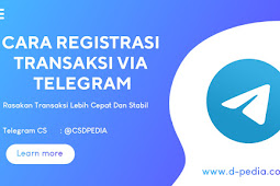 [ TUTORIAL ] Cara Registrasi Transaksi Pulsa Diamond Pedia Via Telegram