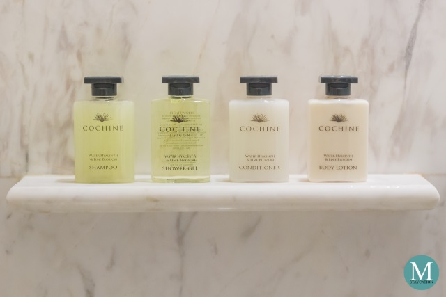toiletries at Park Hyatt Siem Reap