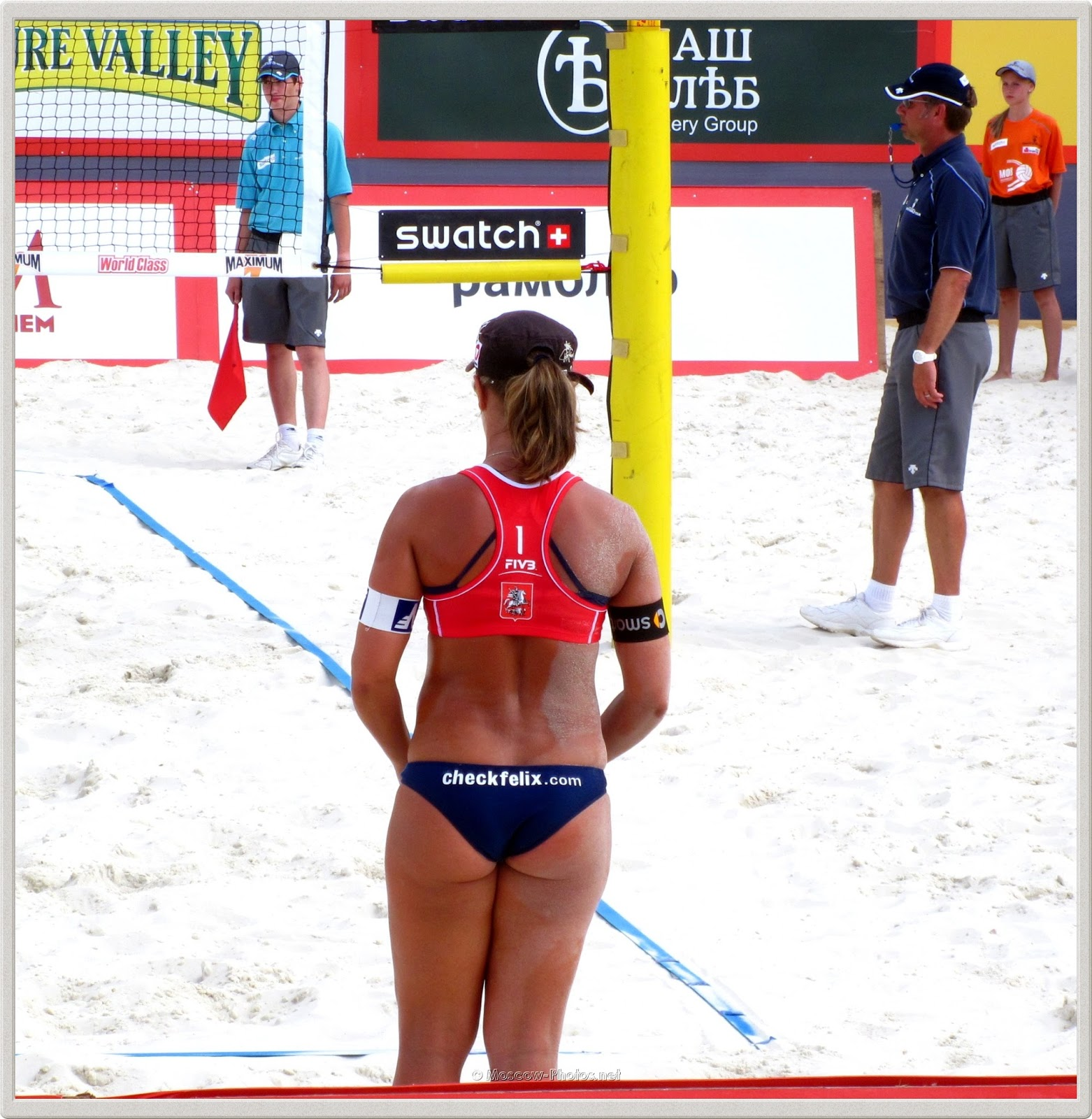 Beach Volleyball Player Sara Montagnolli