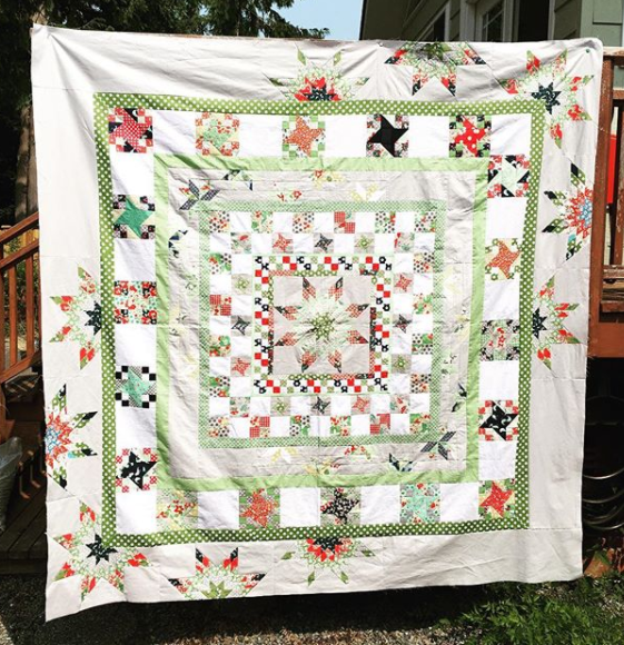 Little Bunny Quilts Coast To Coast Bee Round 2 Starting My Quilt