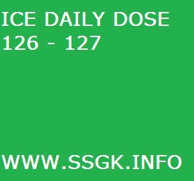 ICE DAILY DOSE 126 - 127