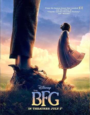 Poster Of The BFG 2016 English 700MB HDCAM x264 Free Download Watch Online Worldfree4u