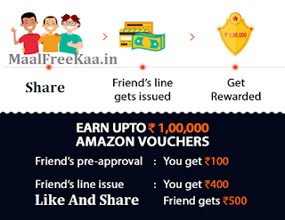 Free Amazon Gift Card Rs 100000