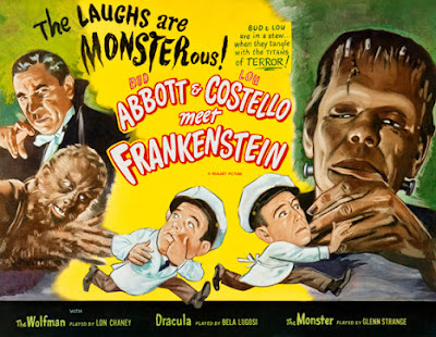 Poster - Abbott and Costello Meet Frankenstein, 1948