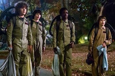 Una imagen de la segunda temporada de 'Stranger Things'