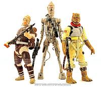 Star Wars bounty hunters Bossk IG-88 Dengar Kenner vintage toys Hasbro saga