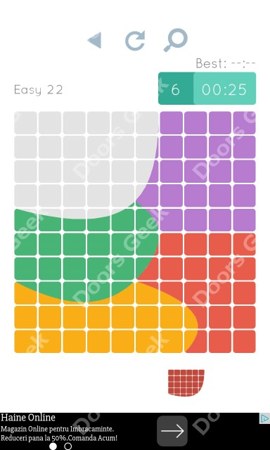 Cheats, Walkthrough for Blocks and Shapes Level 22