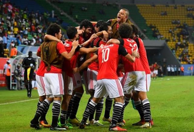 Mesir vs Ghana