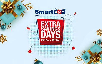 HDFC SmartBuy Extra Saving Days Sale