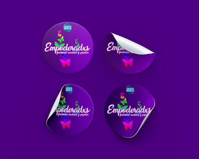 Sticker para Empoderadxs