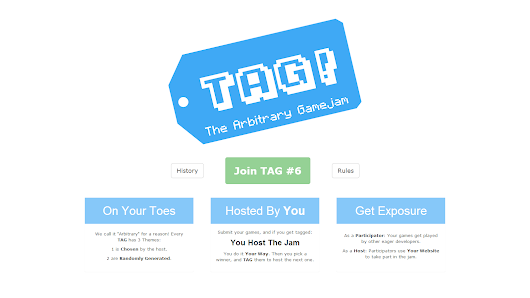 The Arbitrary Gamejam Website is Almost Complete!