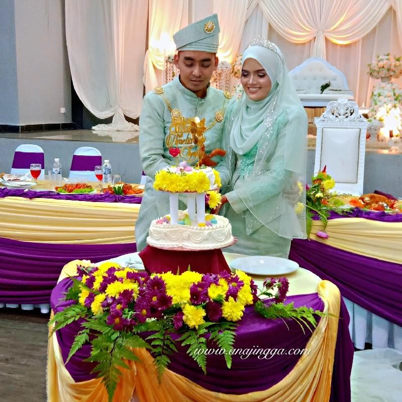 Raikan cinta Amy & Syafiq