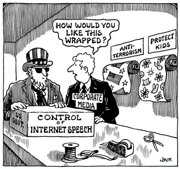 Control of the Internet