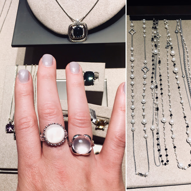 david yurman jewelry on display