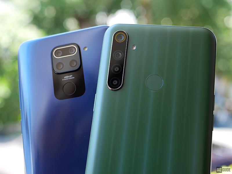 Redmi Note 9 vs realme 6i Specs Comparison
