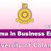 Diploma in Business English - கொழும்பு பல்கலைக்கழகம்.