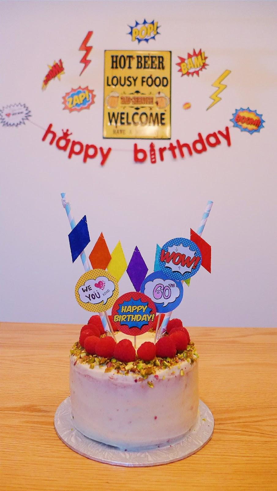 Birthday Suit Cake Bow