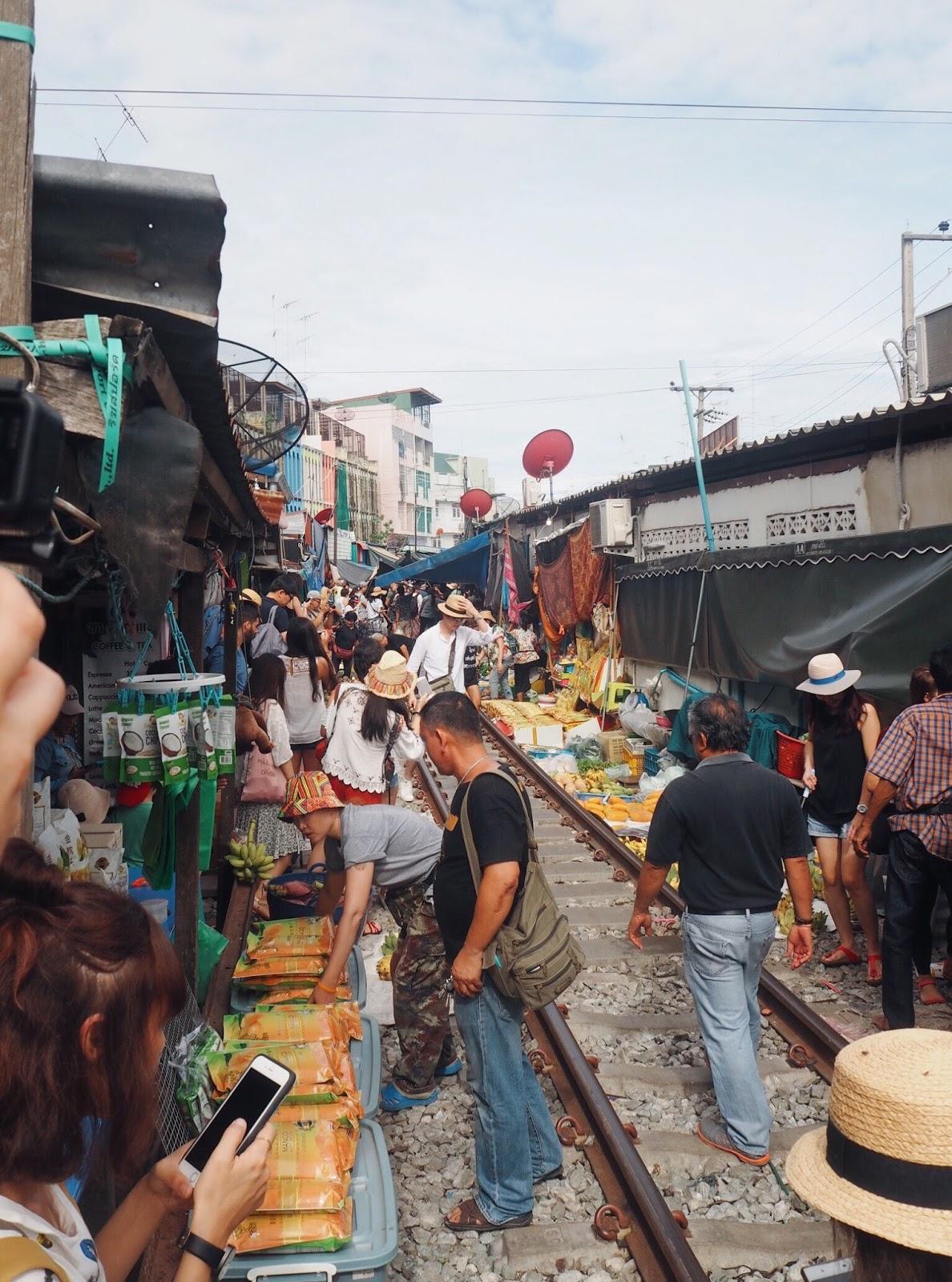 Maeklong Railway Market day trip