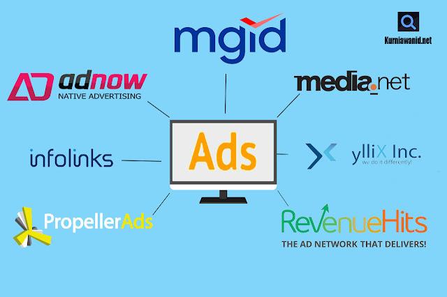Situs Penyedia Iklan Selain Adsense
