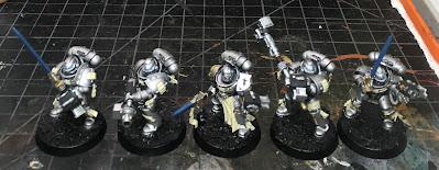 Grey Knights Strike Squad WIP