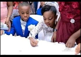 See The youngest and cutest couple