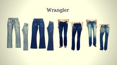 Marca de Calça Jeans Feminina Wrangler