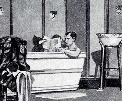 napoleon in bath