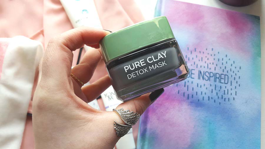 February Favourites, L'Oreal Pure Clay Detox Mask, The Style Guide Blog, Budget Detox Mask, Beauty Blog