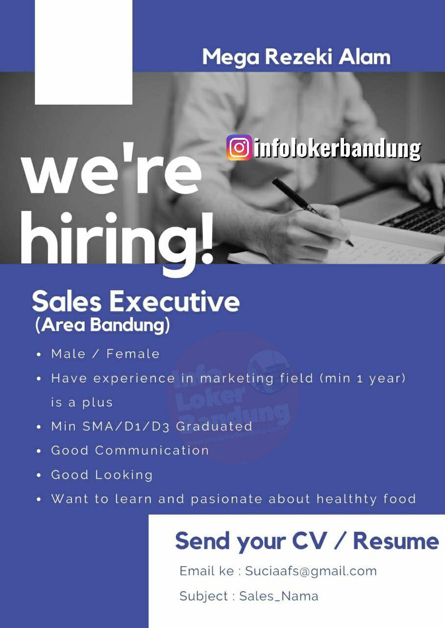 Lowongan Kerja Sales Executive Mega Rezeki Alam Bandung November 2019