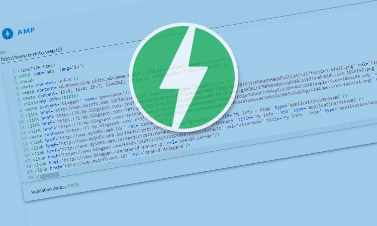 Blog Custom Template Menjadi Valid AMP HTML Bagian 2