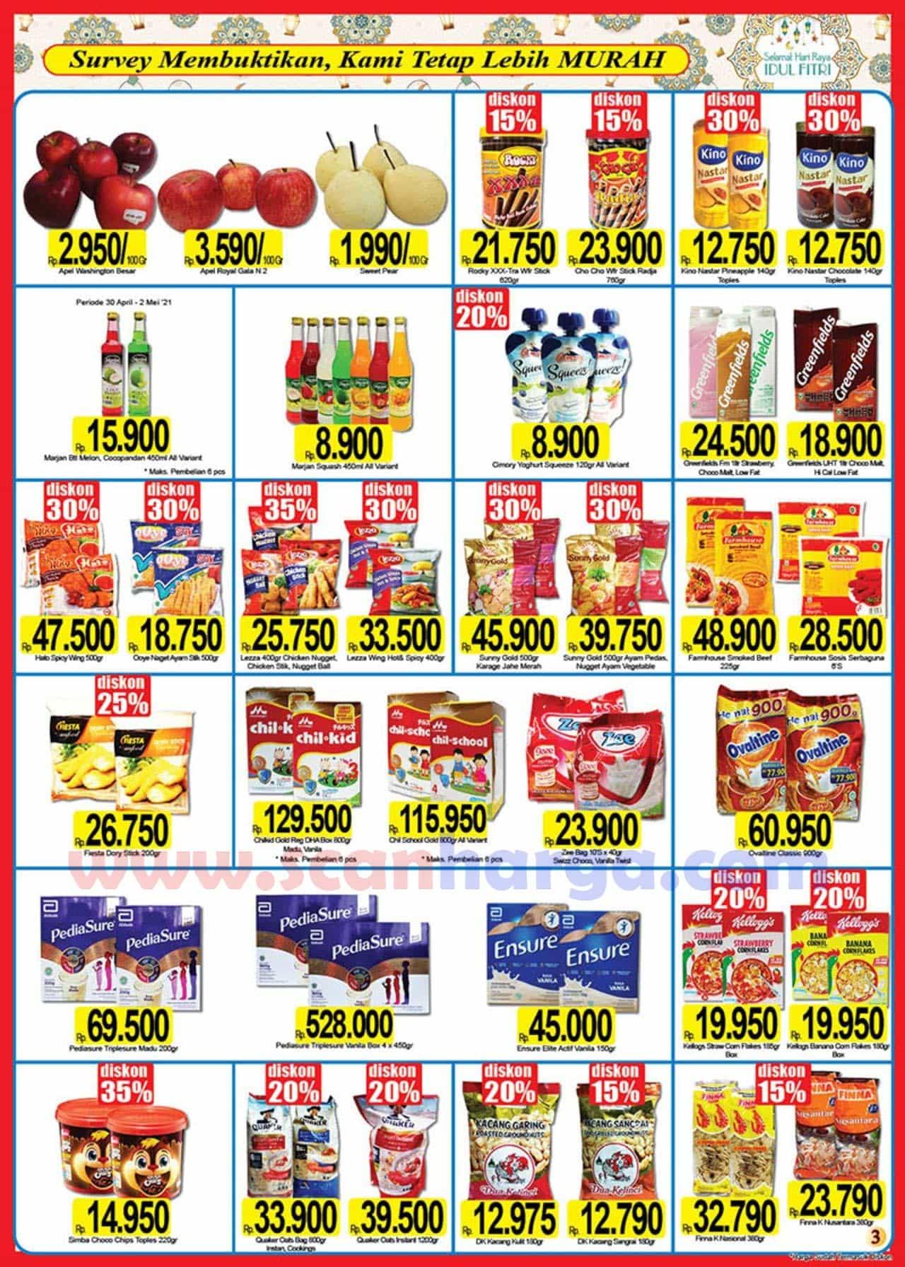 Katalog Promo Naga Pasar Swalayan 25 April - 16 Mei 2021 3