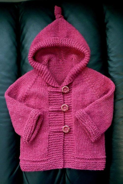 Ducky Hoodie - Knitting Pattern