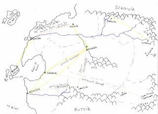 Mapa de Darusia [El libro de los portales]