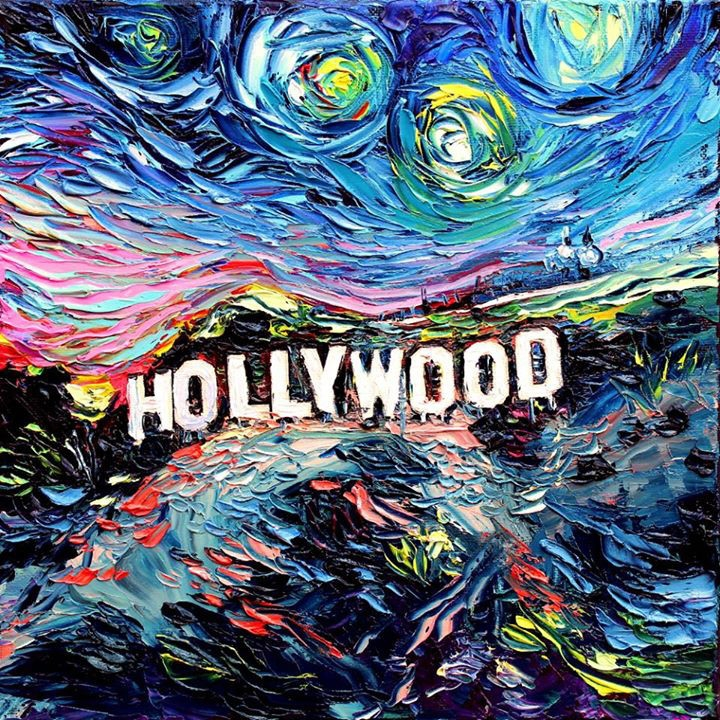 06-Hollywood-Aja-Trier-Vincent-Van-Gogh-Paintings-and-a-Sprinkle-of-Pop-Culture-www-designstack-co