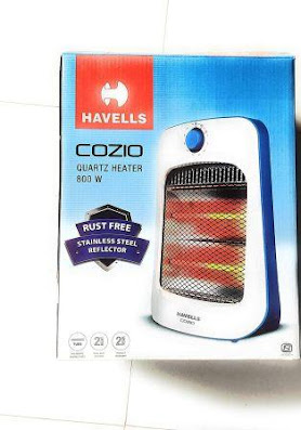 Havells Cozio Quartz Room Heater - 800 Watt