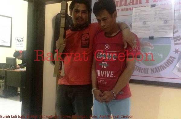 warga cisantana ditangkap karena bawa narkoba