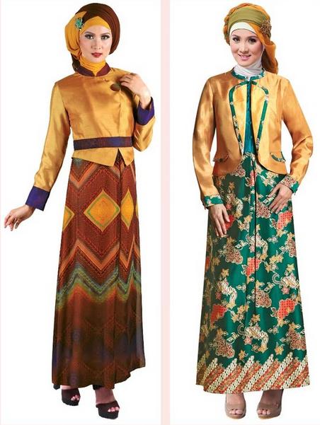 Contoh Model Baju Gamis Muslimah