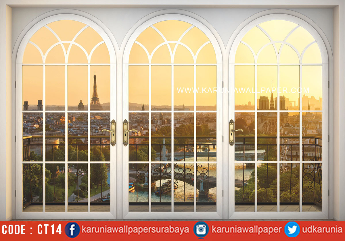 jual wallpaper paris photowall