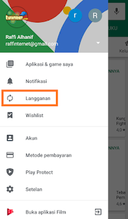 Cara Berhenti Berlangganan Aplikasi di Google Play Store