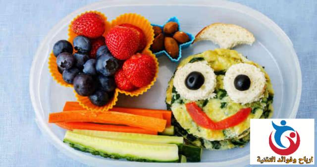 وجبات طعام صحي للاطفال