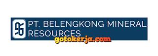 Lowongan Kerja PT Belengkong Mineral Resource