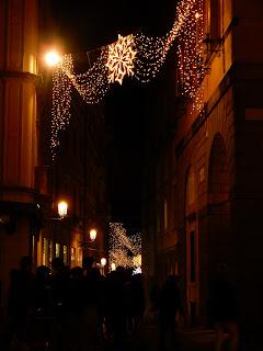 パドヴァの夜のイルミネーション