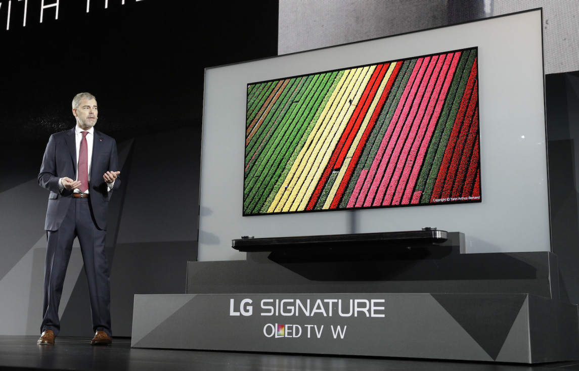 "thatgeekdad: LG's new 65"" 4K OLED W Signature TV is ..."