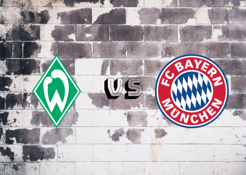 Werder Bremen vs Bayern München  Resumen y Partido Completo