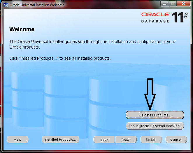 Moin's DBA Blog: How to Uninstall Oracle 11g Client on Windows