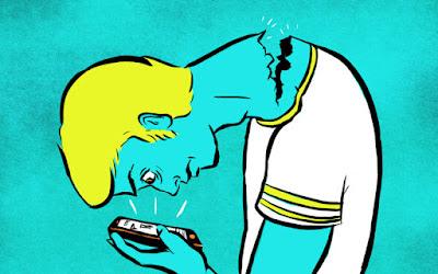 Sakit leher karena handphone