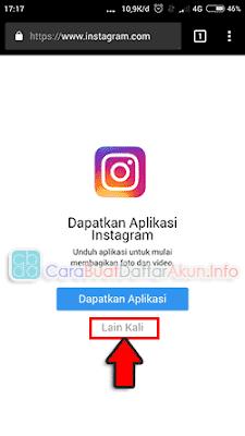 cara bikin akun instagram lewat google