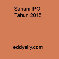 Saham IPO Tahun 2015