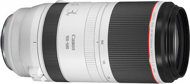 Canon, RF 100-500mm F4.5-7.1L IS USM'yi Tanıttı - RF Montajı için İlk Superzoom