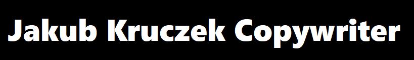 Jakub Kruczek Copywriter